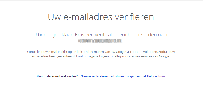 Google account aanmaken 6