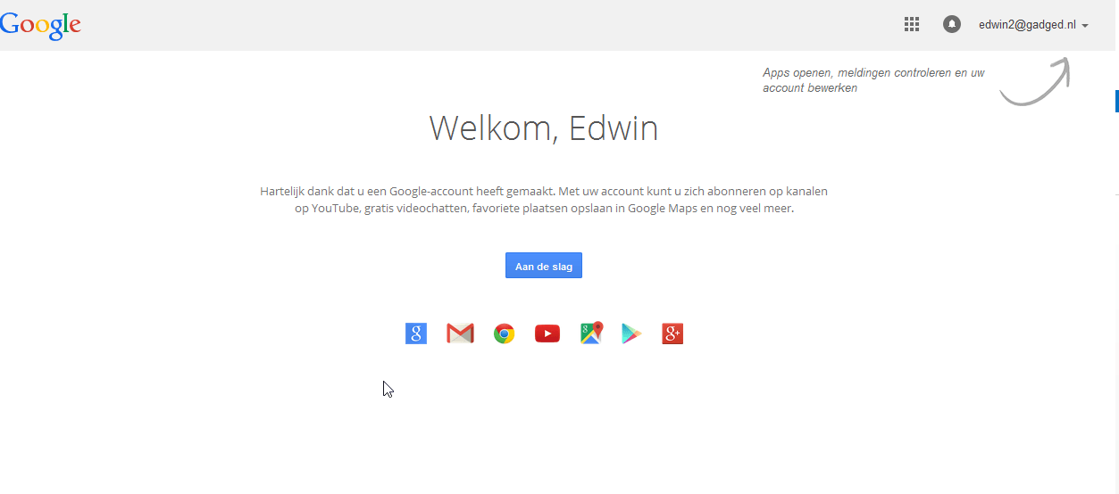 Google account aanmaken 7